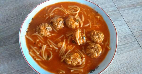 Zupa A La Spaghetti
