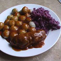 Kluski śląskie Prawdziwy Niedzielny Obiad Przepis Basia19